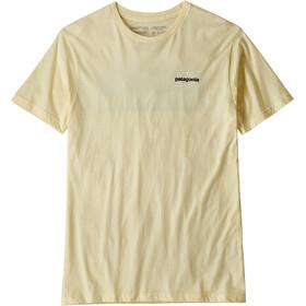 Patagonia P-6 Logo Organic t-shirt Heren geel